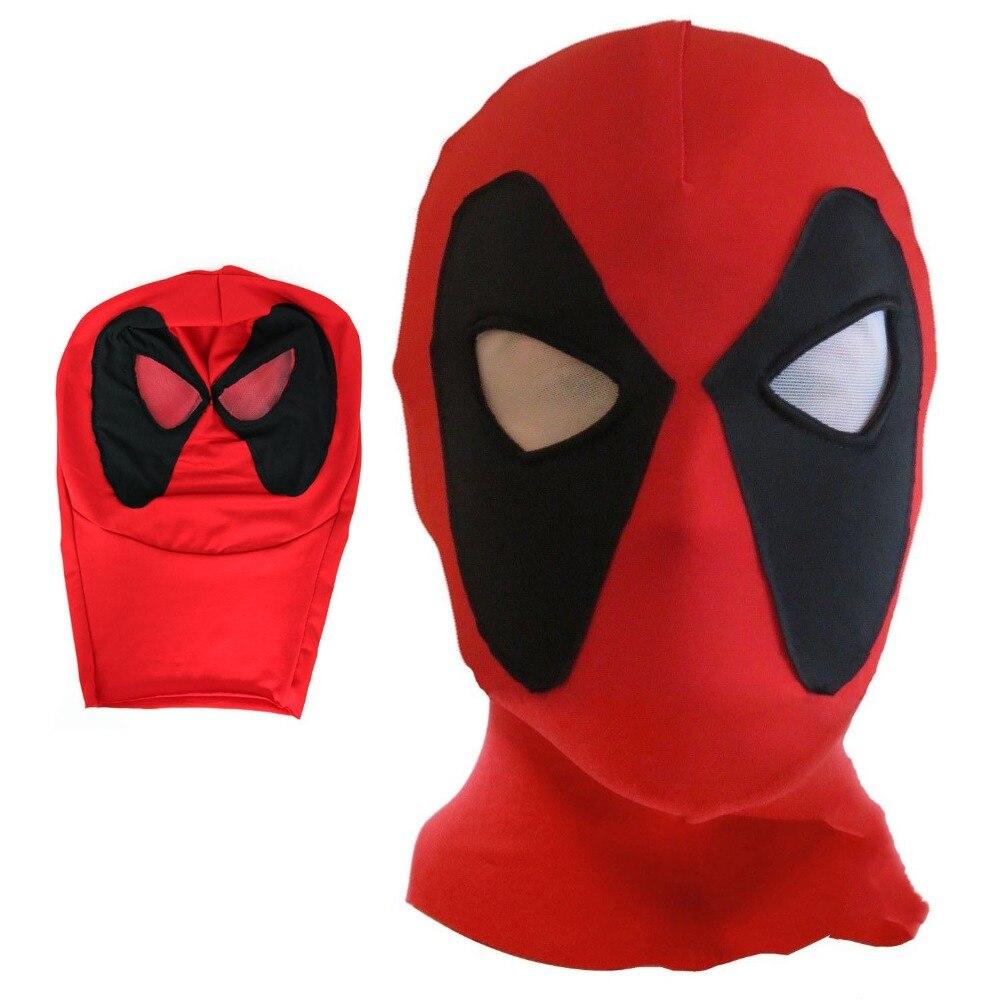 Cosplay mort serveur Halloween DeadPool 2 Lycra masque Costume fête Halloween Cosplay chapeaux divertissement Prop livraison directe