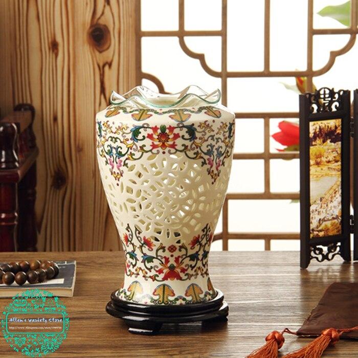 Difusor da fragrância exqusite porcelana fragrância lâmpada elétrica difusor de óleo essencial aquecedor para bolo cera aromaterapia vaporizador