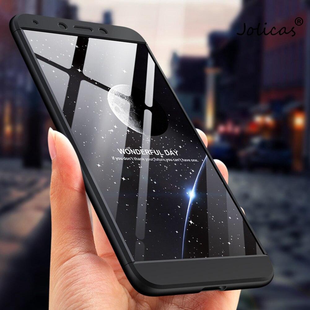 For Xiaomi Redmi 6A Case Luxury 360 Degree Full Cover Hard Plastic Back Cover Funda Coque For Xiaomi Redmi 6A xiaomi Cheap