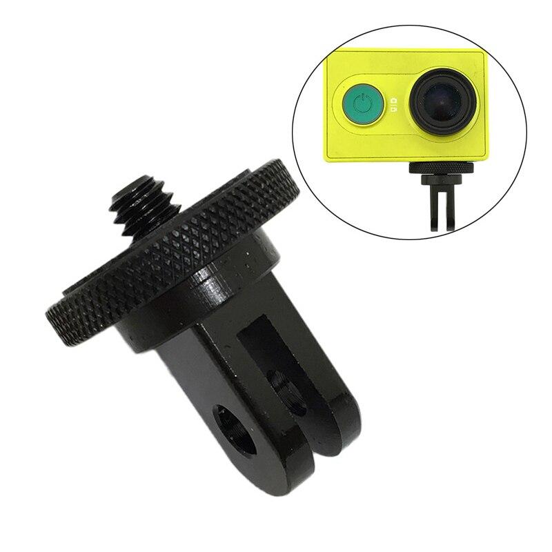 Металлический адаптер для мини-штатива 1/4 дюйма для GoPro Hero 6 5 3 + 4 Session SJCAM SJ4000 Mount Xiami Yi 4K Lite Eken Action Accessories