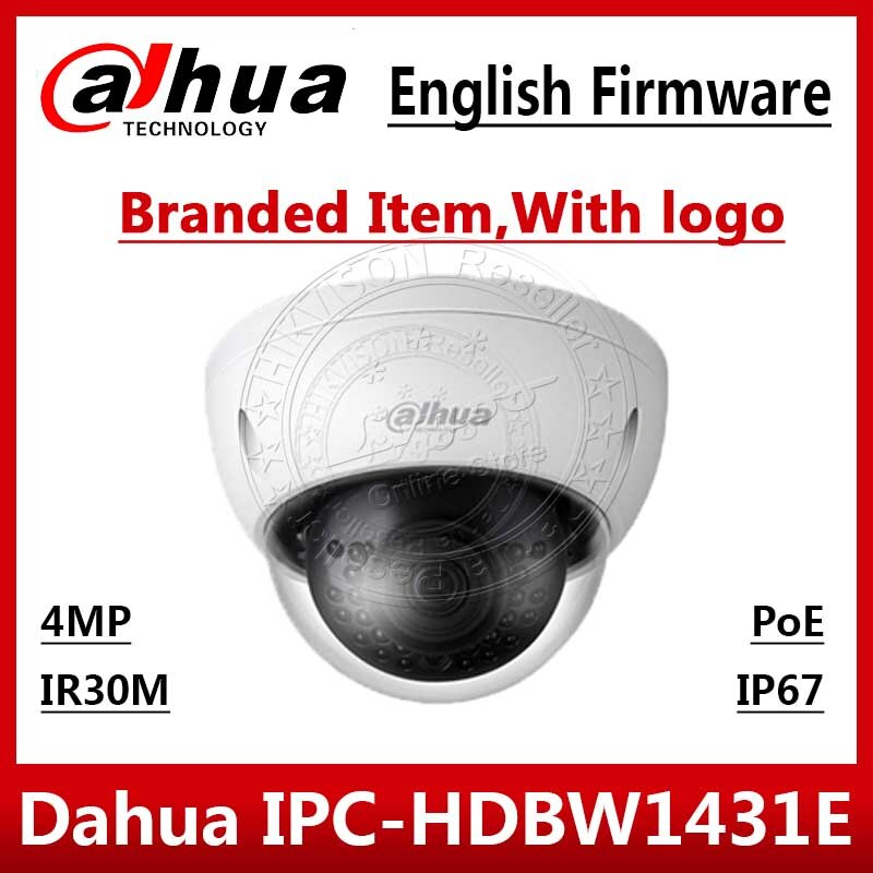 Dahua 4MP cámara IP POE IPC-HDBW1431E H.265 y H.264 WDR IP67 intravenosas Max IR30m de monitoreo de red cámara CCTV IPC-HDBW4433R-S