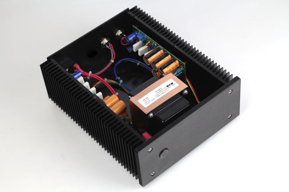 ZEROOZNE acabado 12 V @ 5A + 12 V @ 5A 2 vías Ultra-bajo ruido lineal fuente de alimentación l8-19