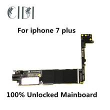 CIDI Verwendet Original Motherboard Für iPhone 7 Plus 7 P 32GB 100% Entsperrt Mainboard Ohne Touch ID IOS Logic bord