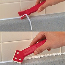 Onnfang 2 шт. Мини ручной работы скребок для инструментов практичный напольный очиститель плитка приспособление для очистки поверхностей клеевая лопатка для удаления остаточных продуктов