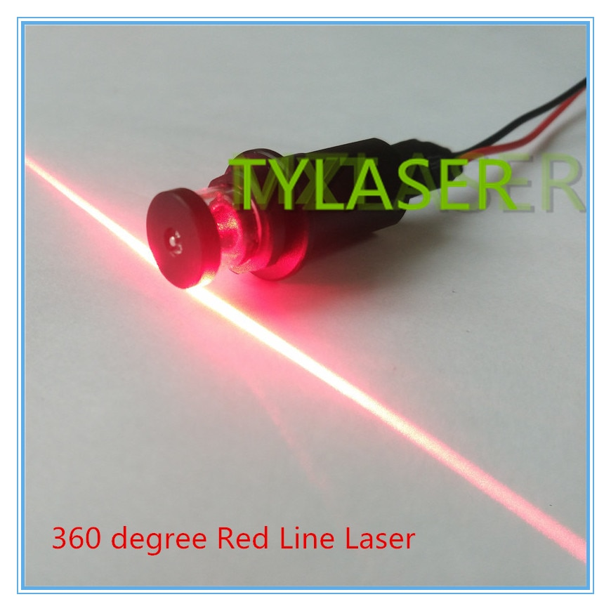 360 Degree 650nm 50mw 100mw Red Laser Line Module for Laser Level