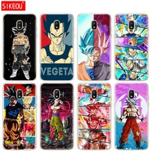 silicone cover phone case for Samsung Galaxy J3 J5 J7 2017 J330 J530 J730 PRO j2 2018GOKU Dragon Ball Z super vegeta saiyan