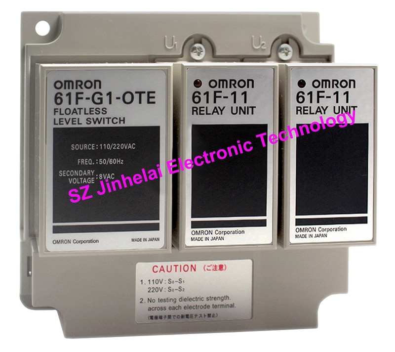 OMRON-مفتاح مستوى السائل 61F-G1-OTE 110/220VAC, مفتاح مستوى السائل 61F-G1-0TE AC110/220V ، جديد وأصلي