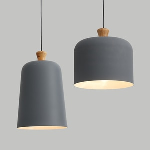 Simple Loft Retro Antique Industrial Aluminum Pendant Lights Lamps Fixtures for Cafe Dining Room Shop Restaurant Bedroom Decor
