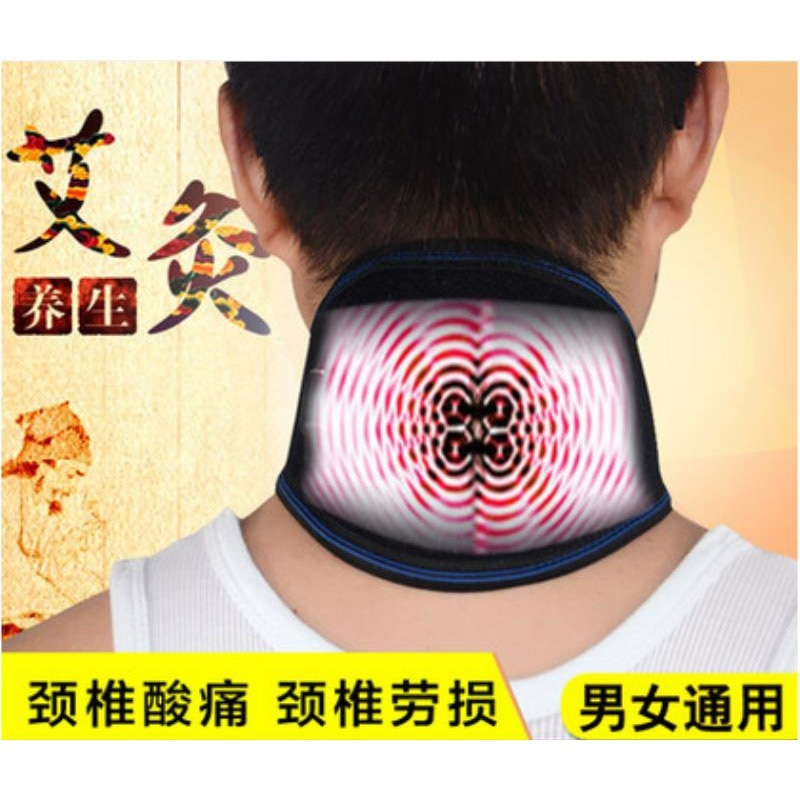 Usb Electric Far Infrared Heating Neck Massager Moxa Moxibustion Warming Massage Cervical Spine Pain Release Therapy Joint hanriver electric heating moxa spontaneous hot tsao apply to protect the knee joints physical therapy product package