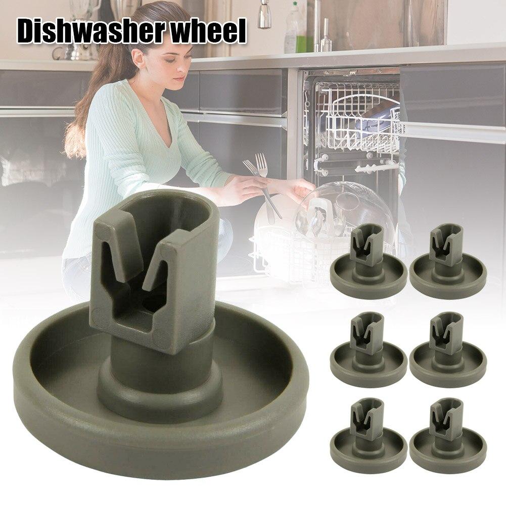 4/8pcs Dishwasher Roller Wheel Part Accessories Repairing Kit for AEG Favorit SDF-SHIP