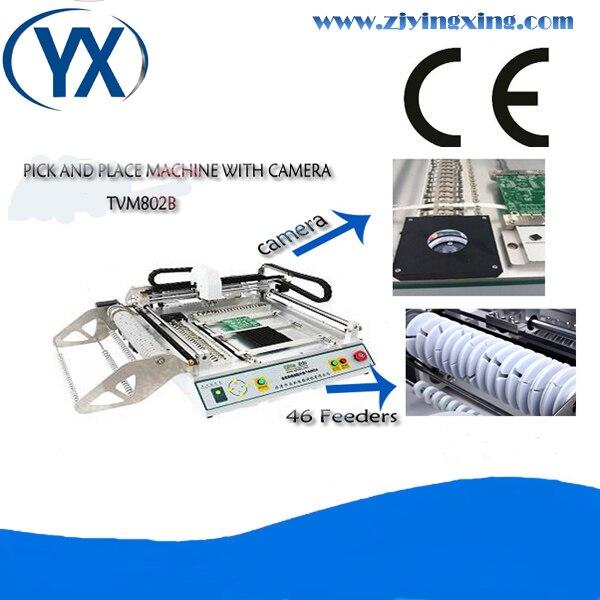 Máquina de soldadura automática PCB con 46 alimentadores con bomba de vacío silenciosa/máquina de ensamblaje PCB/máquina de selección y colocación BGA de visión