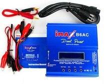Haute qualité iMAX B6 AC 80 W B6AC 50 W Lipo NiMH 3 S/4 S/5 S RC batterie Balance chargeur + EU US AU UK prise alimentation fil