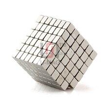Mini bloc aimant néodyme   100 pièces 4x4x3mm N50 terre Rare NdFeB cuboïde