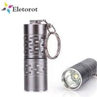 Переносной фонарик XM-L T6 Mini карманный светодиодный фонарик, походная лампа с 3 режимами и питанием от CR123A/16340, 1000 люмен