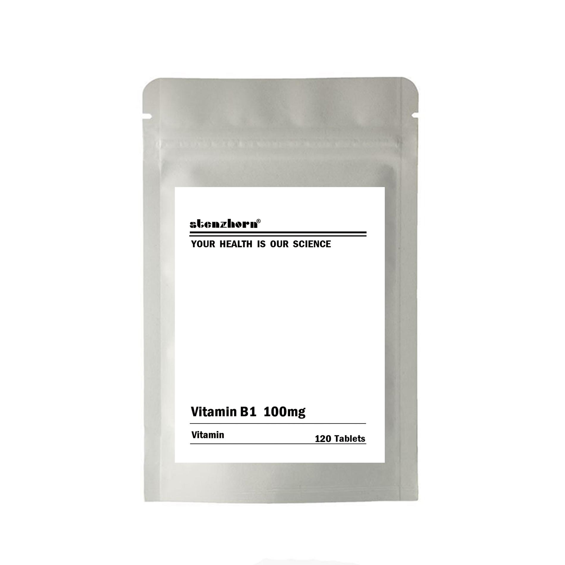 Multifuncional suplemento vitamínico B1 100 mg 120 unidades 100 mg de garantia de Qualidade
