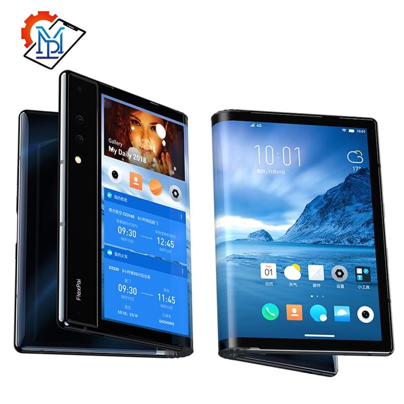 Оригинальный складной телефон Royole FlexPai, гибкий AMOLED экран 7,8 дюйма, 6 ГБ + 128 ГБ