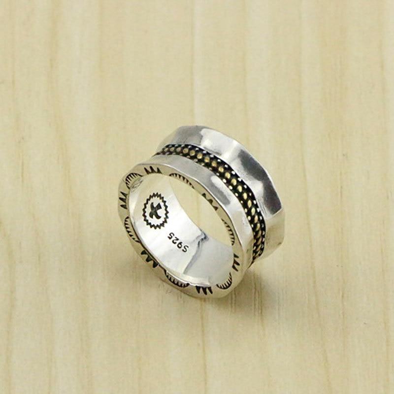Takahashi Goro Handmade S925 Sterling Silver Ring Male Index Finger Vintage Phnom Penh Bird Retro Thai Silver Ring Female