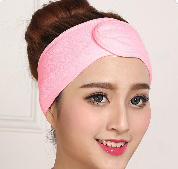 New Fashion Wash Face Makeup SPA Women Sweat Elastic Soft Headbands Hair Band Hair Accessories