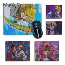 MaiYaCa Funny Nanatsu no Taizai siedem grzechów głównych Gamer podkładka pod mysz anime antypoślizgowe Laptop gry komputerowe mat podkład na biurko