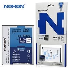 Original NOHON Batterie EB-L1G6LLU Für Samsung Galaxy S 3 III I9300 I9305 SIII Duos S3 Neo I9300i 2100mAh Mobile telefon Batterien