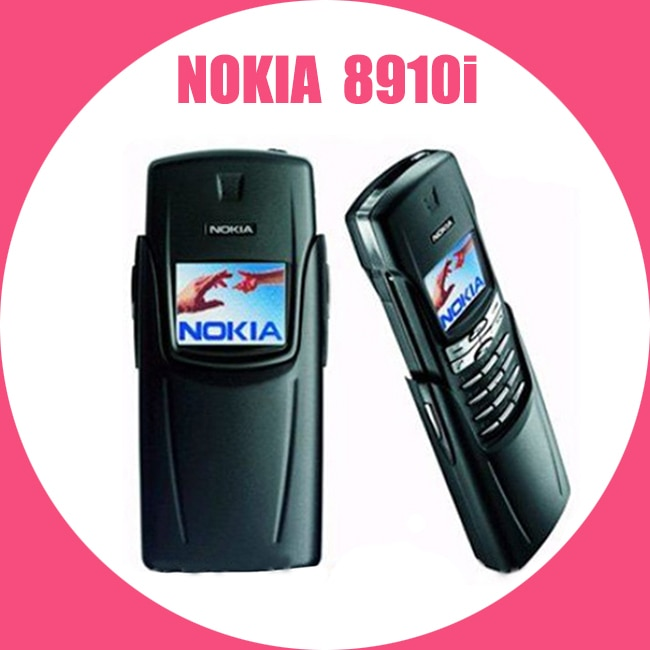 هاتف نوكيا 8910i مجدد-أصلي من التيتانيوم 8910i هاتف محمول GSM DualBand مفتوح 8910i هاتف خلوي من التيتانيوم