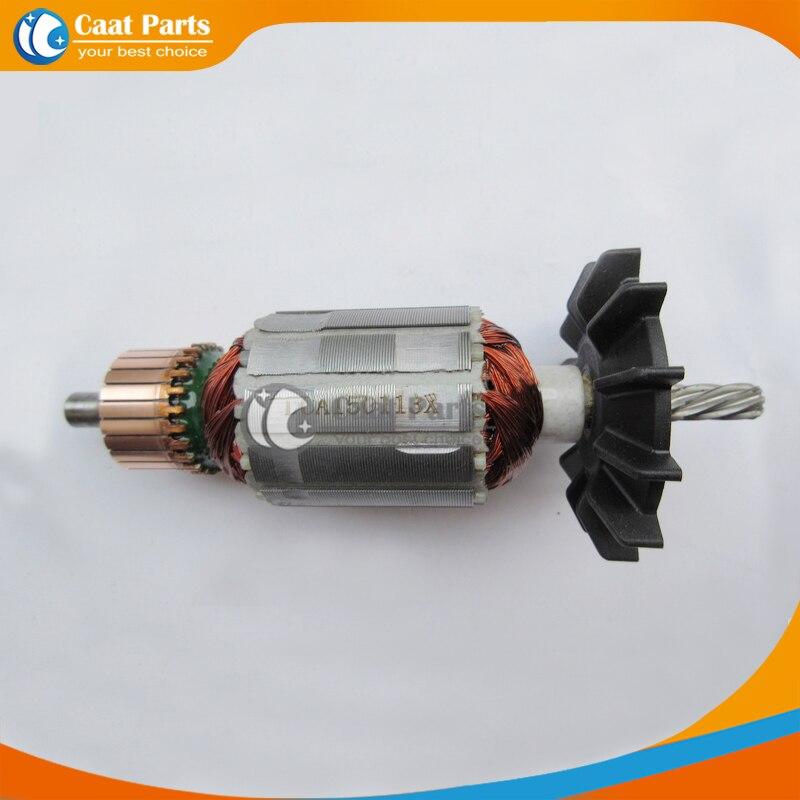Livraison gratuite! Rotor à Armature électrique à arbre dentraînement AC 220 V 7 dents pour Makita 6013BR, de haute qualité!