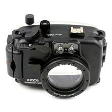 Meikon Sualtı su geçirmez muhafaza Kamera Çantası Fuji X100S Fujifilm X100S