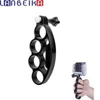 LANBEIKA Handheld Finger Grip Mount Monopod Tripod Handle Holder With Thumb Screw for GoPro Hero 9 8 7 6 5 4 3  SJCAM SJ4000 YI