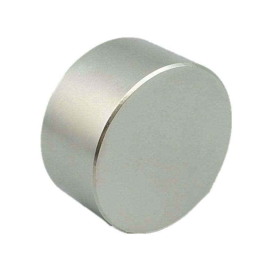 NiCuNi-قرص مغناطيسي N52 NdFeB ، قطر حوالي 40 × 20 مم ، 1.51 بوصة ، لتصفية المياه