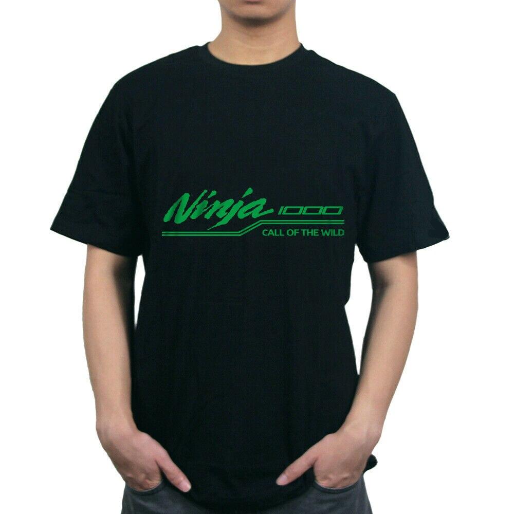 Ninja1000 ninja 1000 moda masculina da motocicleta 2019 summe hip pop engraçado camiseta de verão homme t camisa designer