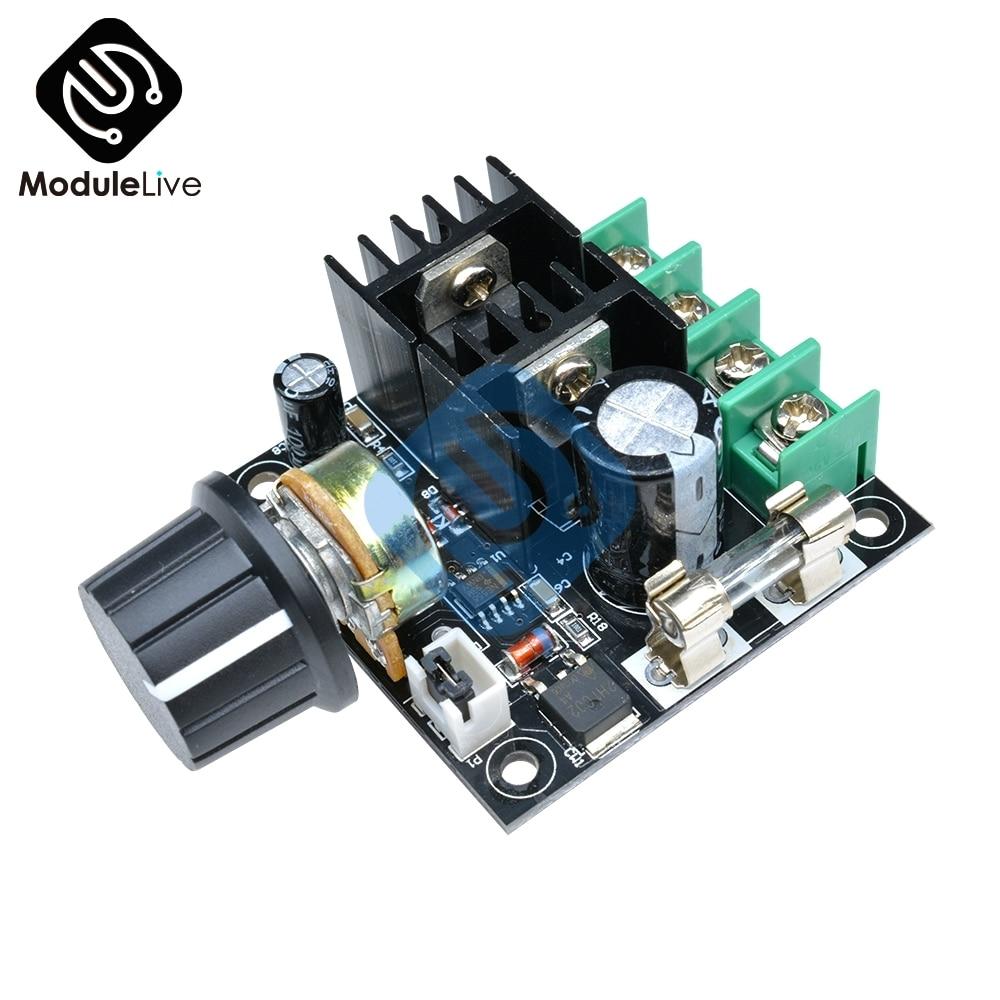 Cc 12V 24V 32V 40V 400W 13KHZ señal PWM automática regulador de velocidad del Motor CC controlador de velocidad Módulo de interruptor 10A 50V 1000uF