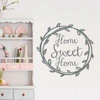 Autocollant Mural en vinyle pour la maison  joli Sticker  cadeau de pendaison de cremaillere  pour la famille  Style russe  AY0288