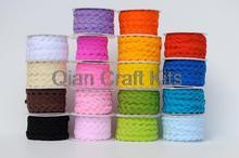 100 yards ric rac/zigzag ruban dhabillage pour lartisanat vous choisissez couleur rick support garnitures Ric rac ruban, largeur 5-6mm pour bricolage