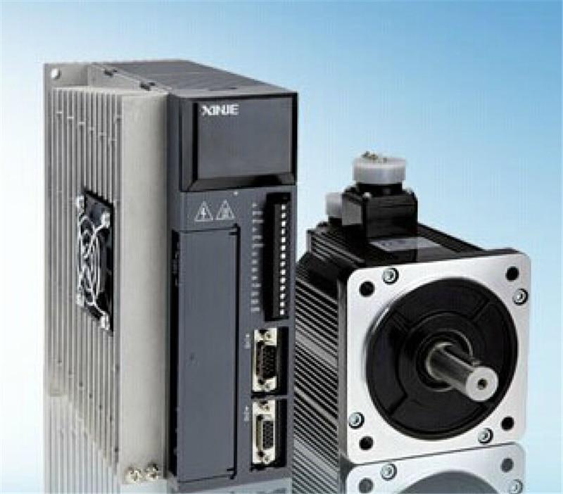 220V 1.2KW 4N.m 3000rpm محرك سيرفو يعمل بالتيار المتردد محرك مجموعات مع 3M كابل MS-110ST-M04030B-21P2 + DS3L-21P5-PFA XINJE