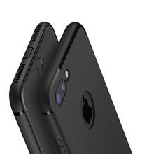 Pour Fundas iphone 7 housse iphone XS Max XR 5S SE 6 6S 7 8 Plus luxe dos mat Silicone souple TPU étui pour iphone 6s capas