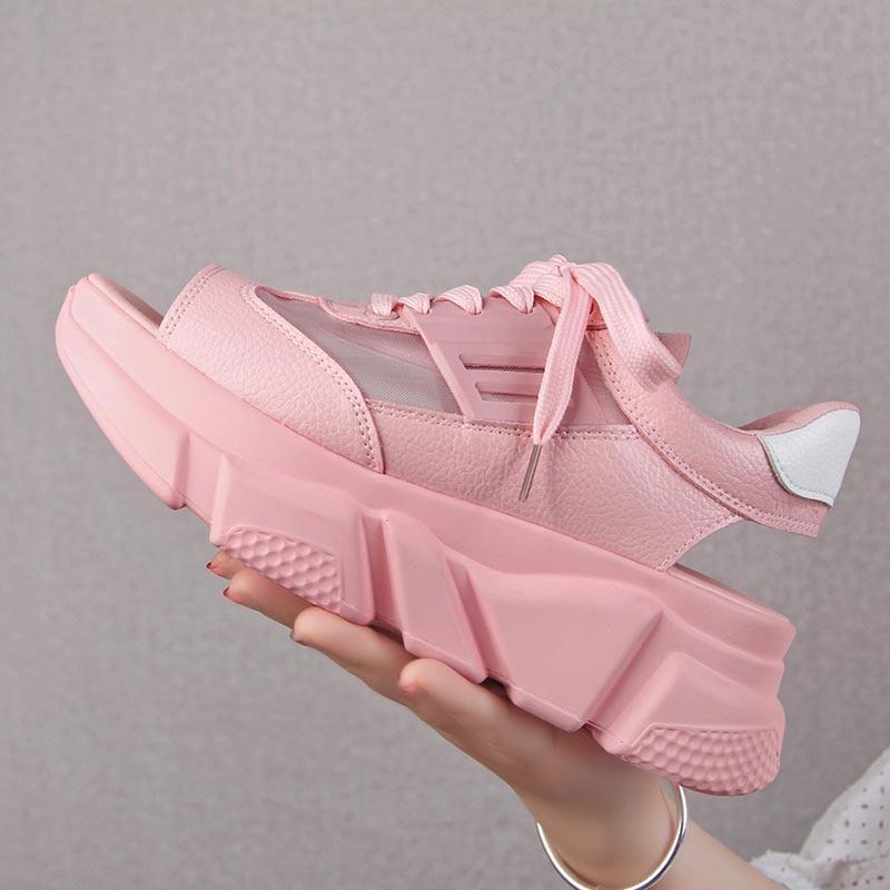 Sandalias de Mujer 2019, Zapatos de verano, Sandalias de plataforma para Mujer, Zapatos planos de verano para Mujer, Zapatos gruesos, Sandalias Mujer