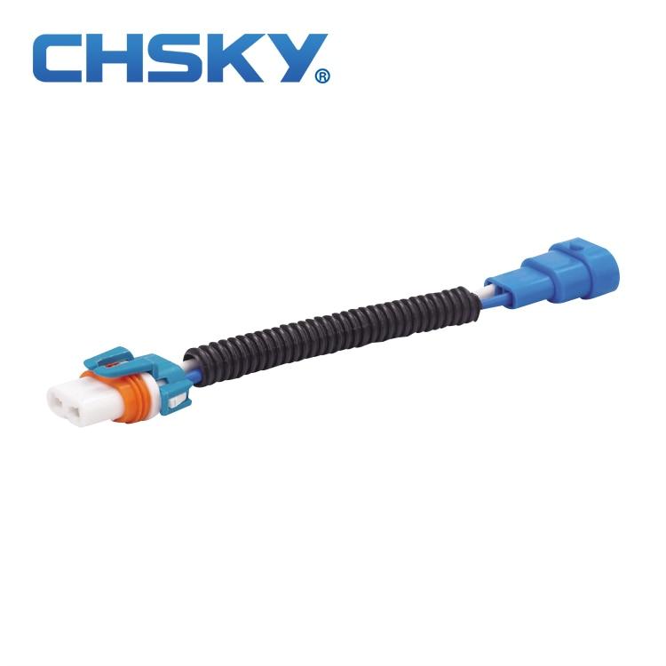 Una excelente resistencia al calor de tipo de cerámica HB3 bombilla conector macho y hembra 9005 hembra DIY Fácil instalación conector 9005