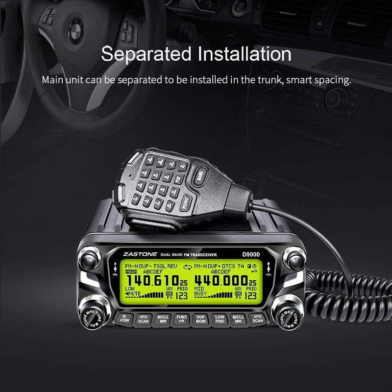 ¡Promoción! Walkie Talkie D9000 50W para coche 12V HF transceptor Radio de dos vías