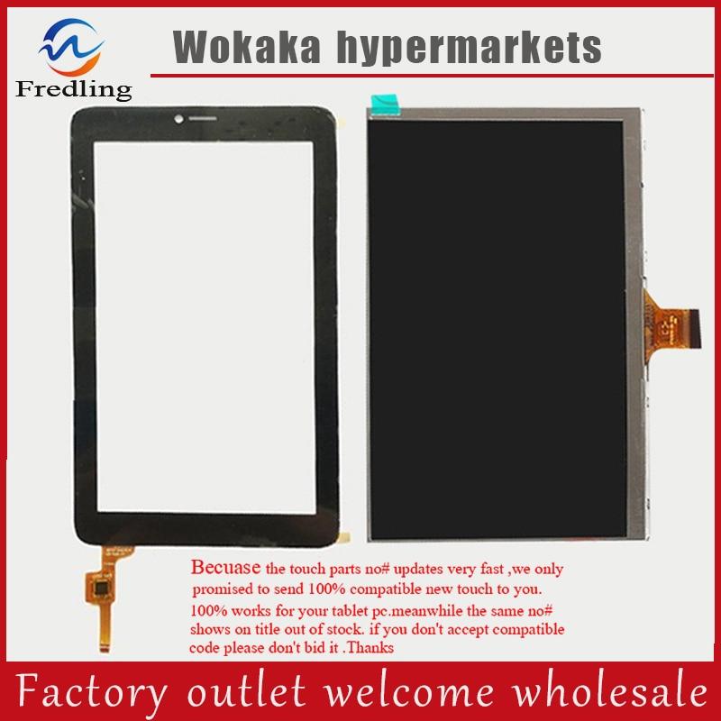 Panel táctil + pantalla Lcd para ALCATEL ONE Touch PIXI 3 (7) 3G 9002x 9002a pantalla táctil capacitiva Panel digitalizador tableta