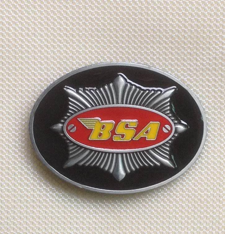 Hebilla de cinturón de motocicleta BSA