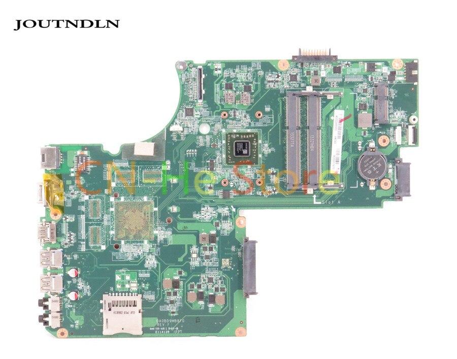 JOUTNDLN PARA TOSHIBA SATELLITE C75D L75 DA0BD9MB8F0 A000243960 Gráficos Integrados W para A4-5000 L75D Laptop motherboard CPU