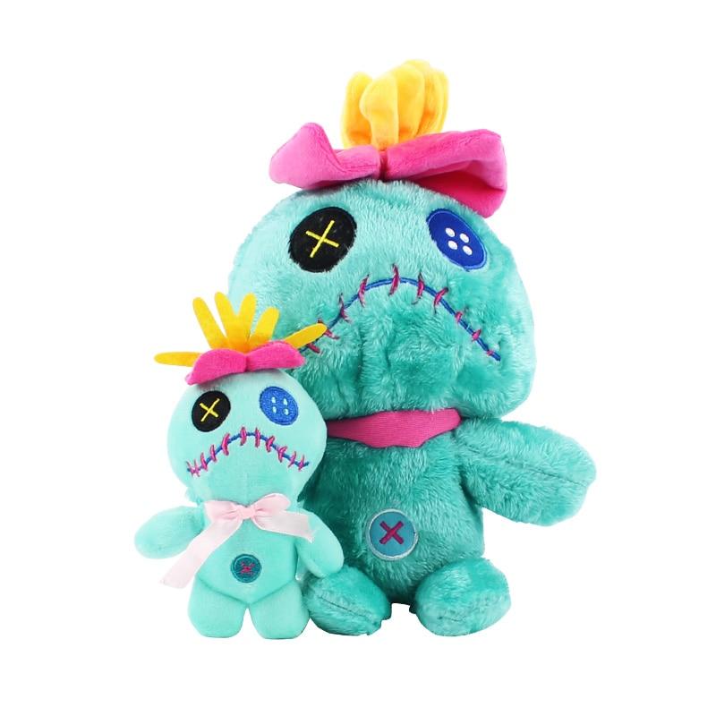 13cm/30cm lilo e stitch scrump brinquedos de pelúcia boneca stich pelúcia macio animais de pelúcia brinquedos dos desenhos animados crianças presente de aniversário