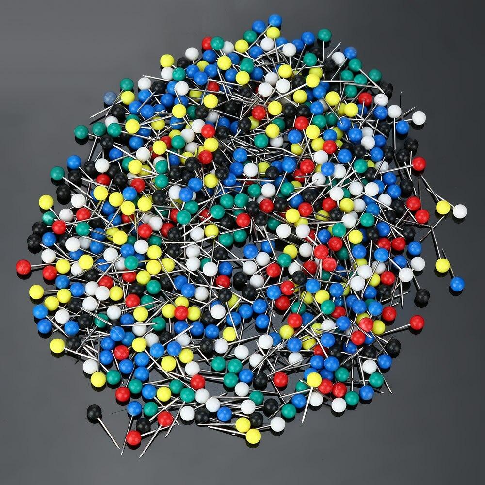 500 stücke Multi Farbe Angeln Pin für Befestigen Angelschnur Wickler Spool Reel Tackle Freien Angeln Zubehör Großhandel # sw