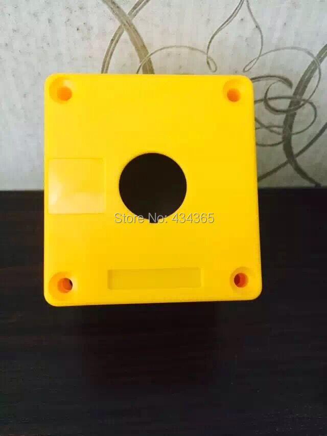 Желтый Водонепроницаемый кнопочный выключатель индикаторная лампа