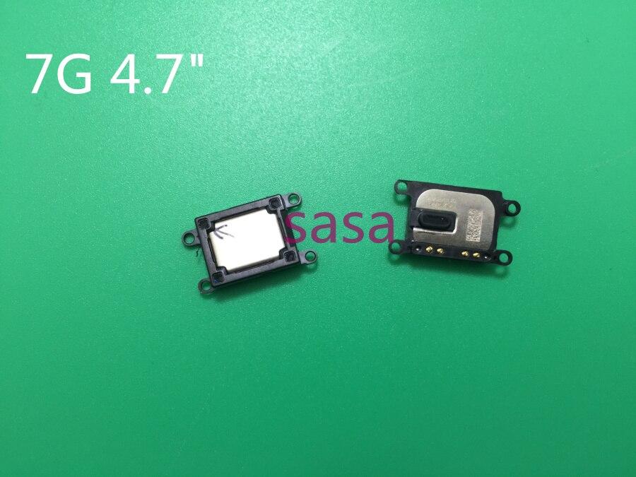 """20 unids/lote nuevo auricular altavoz para iPhone 7 7G 4,7 """"pulgadas oído altavoz receptor de sonido auricular piezas de recambio de cable FLEX"""