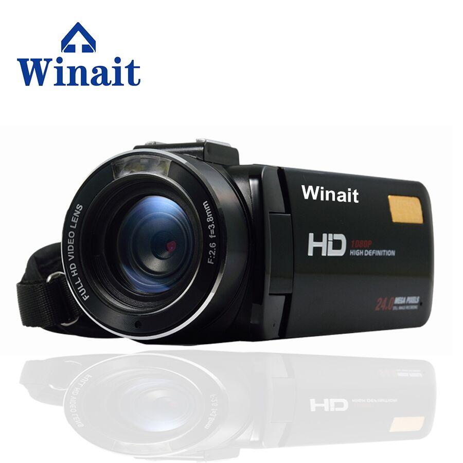 "Cámara de vídeo DVR HDV-Z20 24MP 1080P profesional grabadora de vídeo Digital 3,0 ""HDV con Control remoto, envío gratuito"