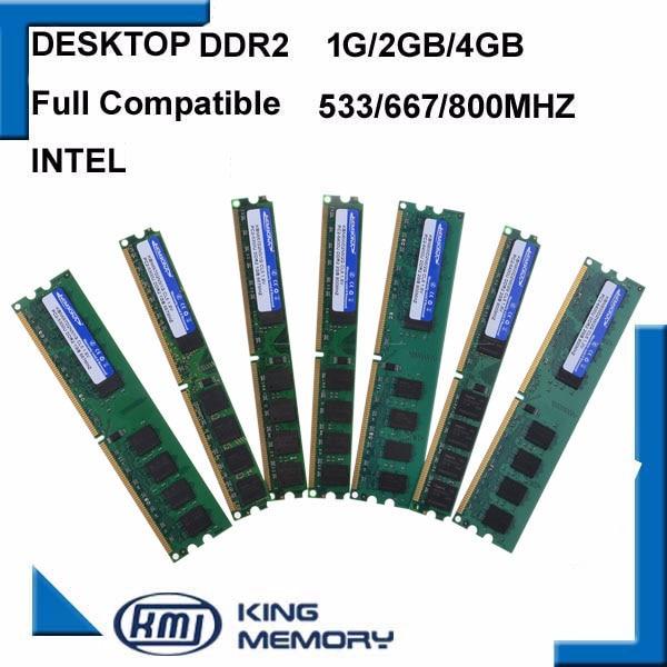 KEMBONA-chips originales para ordenador de escritorio, DDR2, 1GB / 2GB/4GB, 800MHz /...