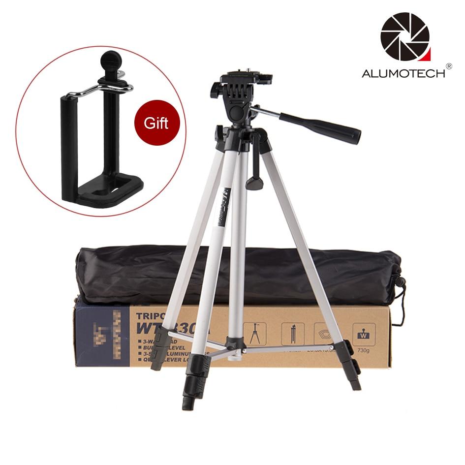 ALUMOTECH Mini Tripod Stand for DSLR Digital Camera Smart Phone Video Studio Trip Shooting