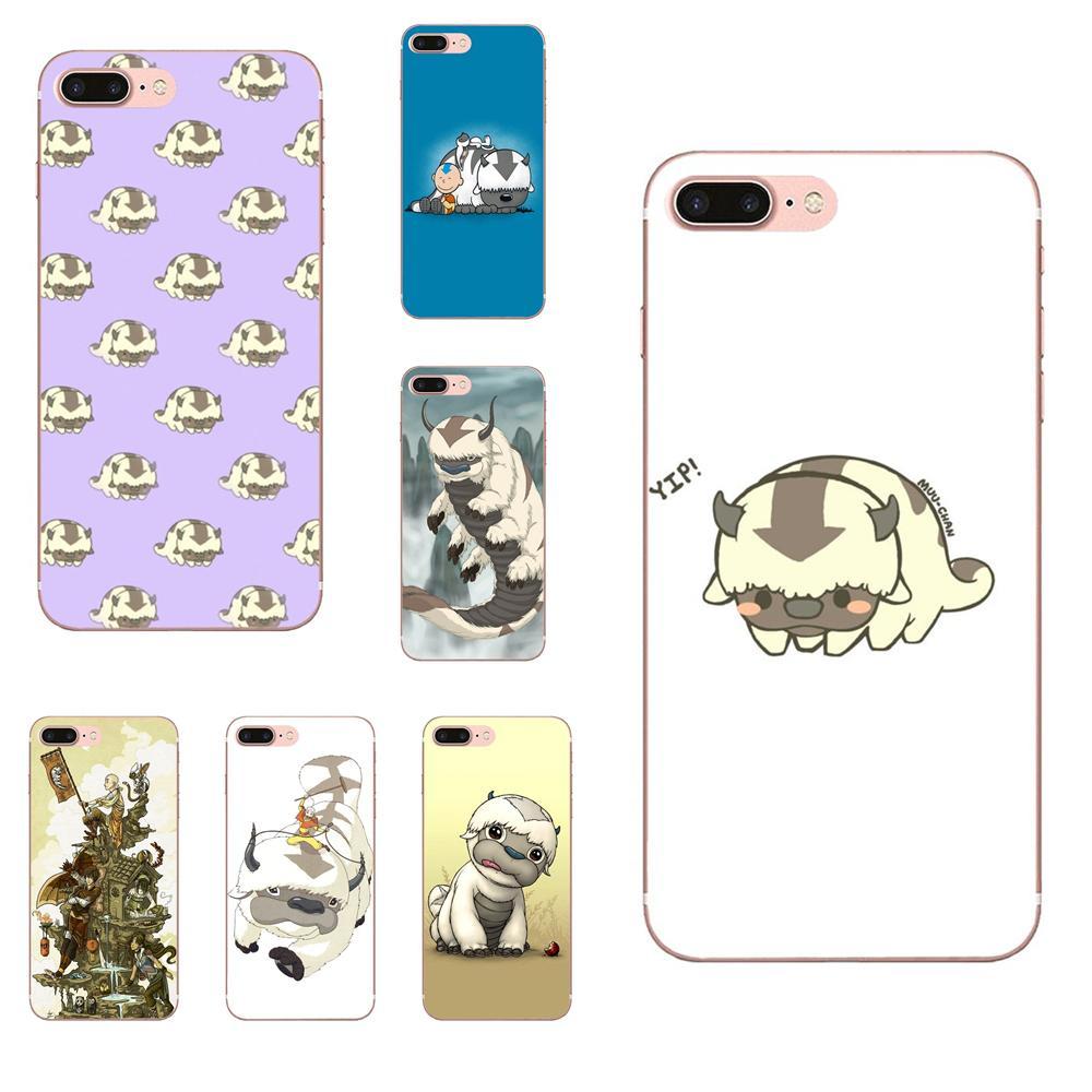 For Apple iPhone 4 4S 5 5C 5S SE 6 6S 7 8 Plus X XS Max XR Phone Case Transparent Fundas Coque Cover Appa Yip Yip Avatar