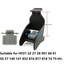TINTE WEG Tinte Patrone Clamp Absorption Clip Pumpen refill-tool für HP 21 22 60 61 56 57 74 75 901 121 702 803 etc., 90 SETS